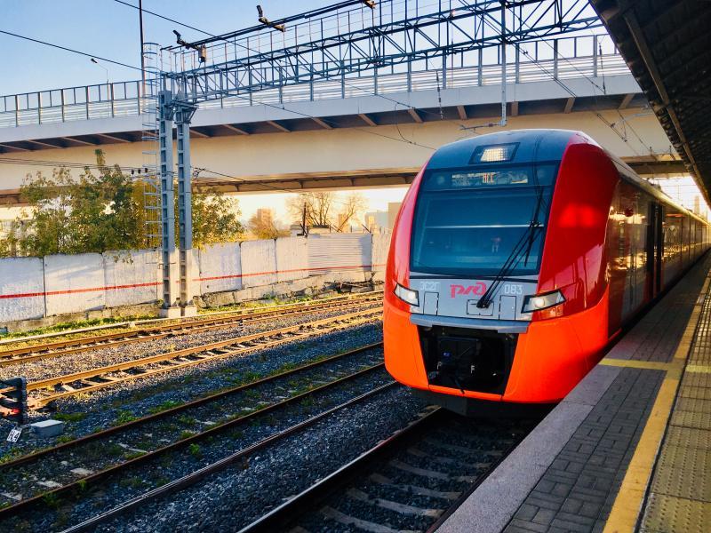 Свыше миллиона пассажиров перевезли на Московском центральном кольце в ноябрьские праздники