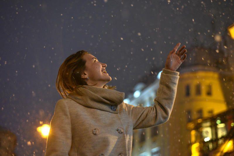 Синоптики анонсировали снег на выходных