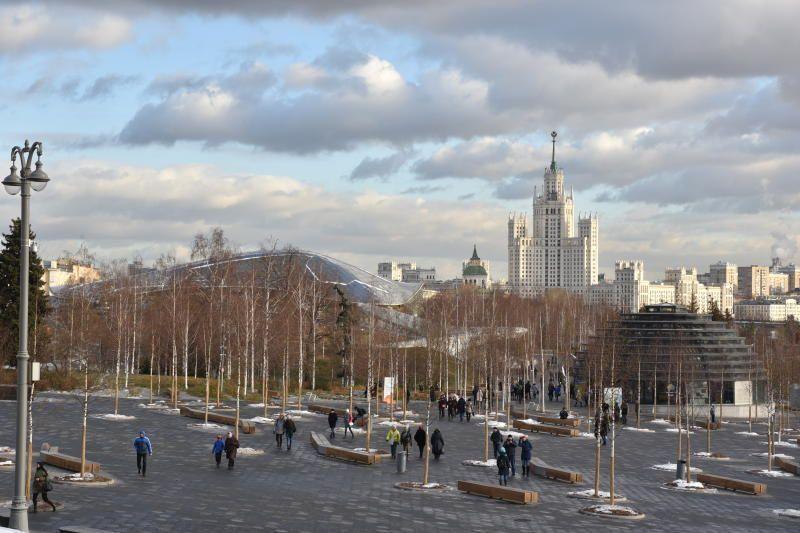 В Москве зафиксирован обратный суточный ход температуры