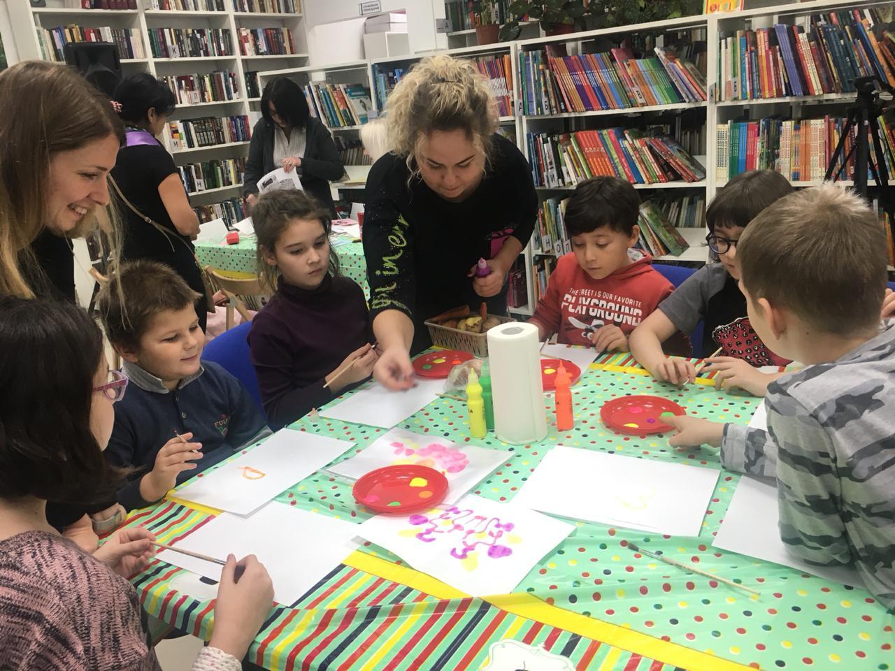 Гости библиотеки Сосенского присоединились к акции «Ночь искусств»