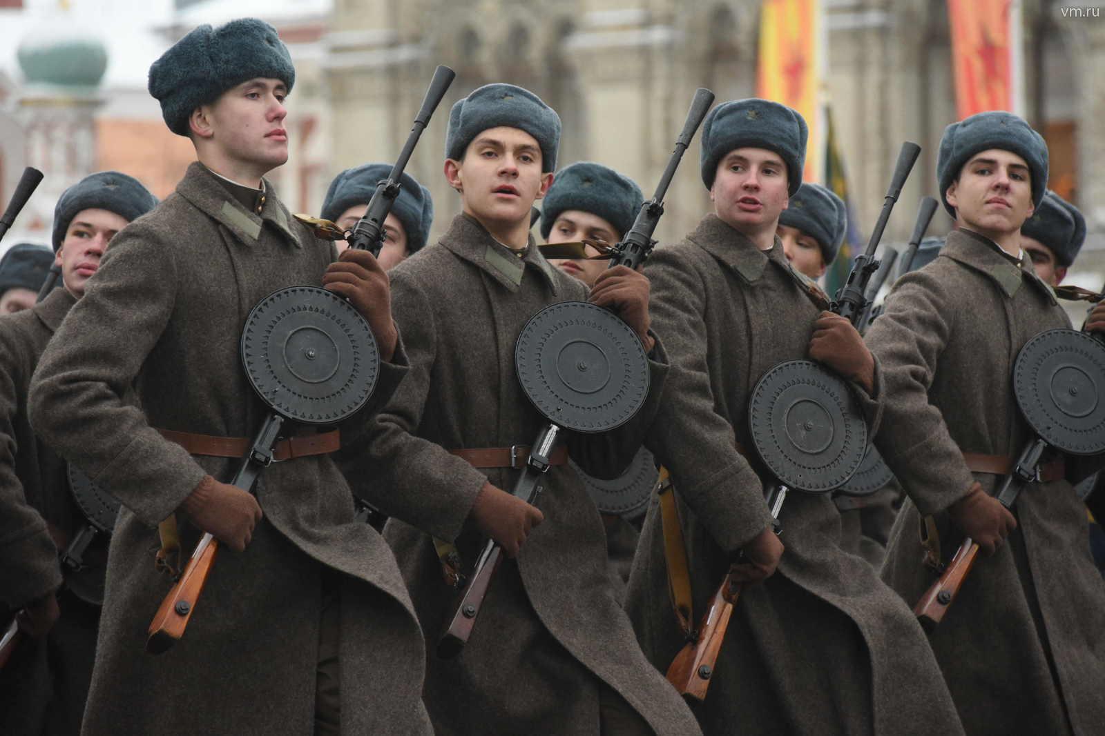 Генеральную репетицию военного парада провели на Красной площади