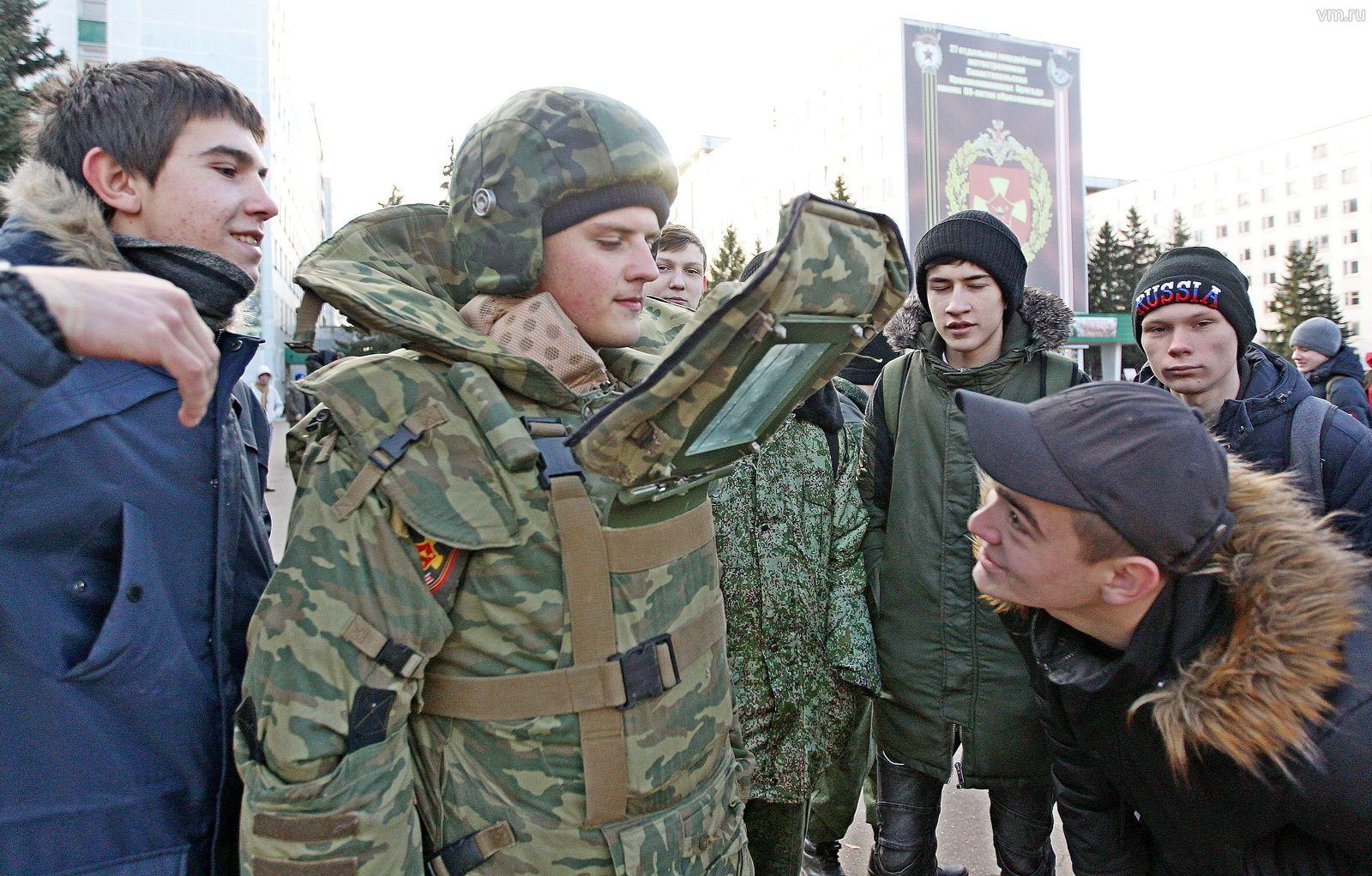 Экскурсия в армию: День призывника организовали в поселке Мосрентген