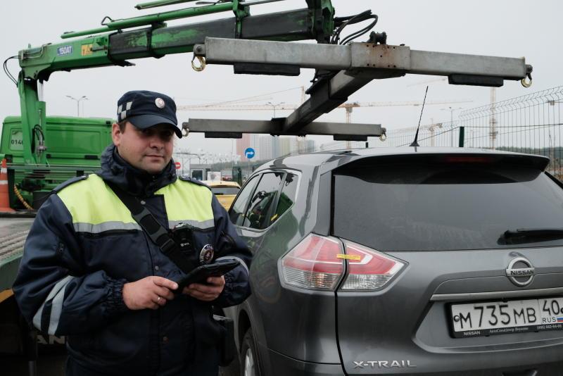 Рейд по выявлению брошенного транспорта проведут в поселении Киевский