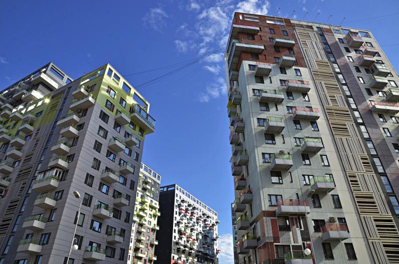 Около 95 тысяч квадратных метров жилья ввели за октябрь в Новой Москве