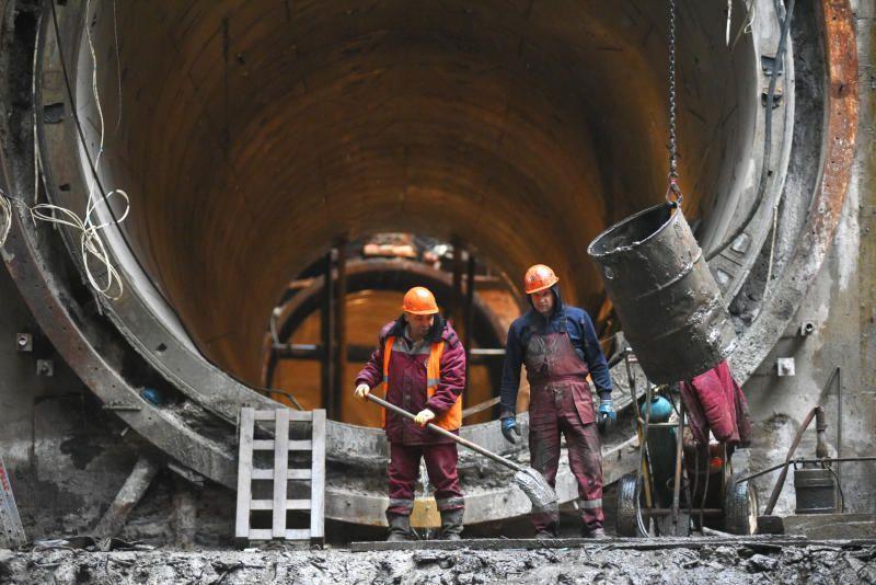 Десять станции Коммунарской линии метро появятся до конца 2023 года