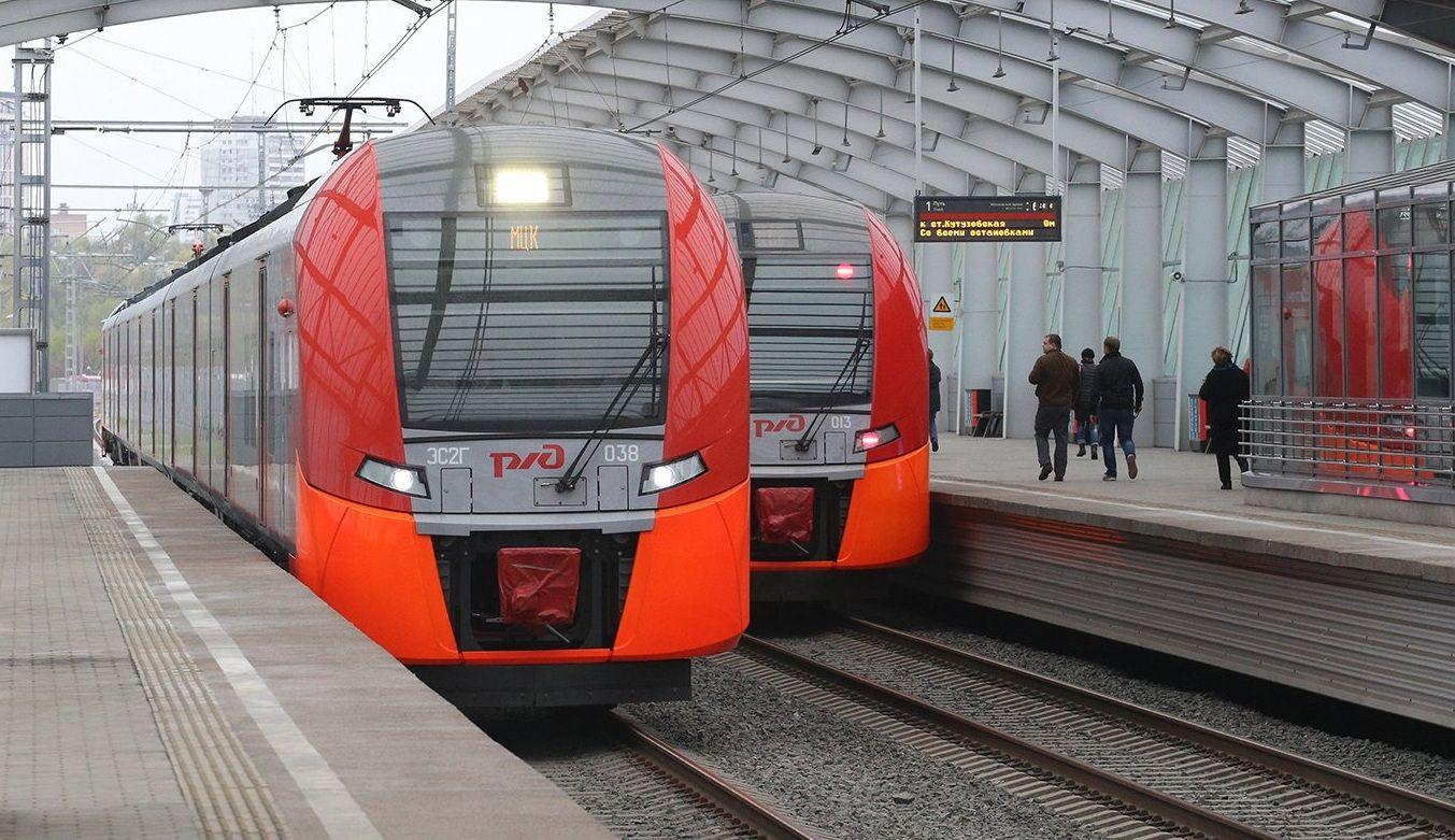 Поезда «Ласточка» перевезли более 12 миллионов человек в октябре