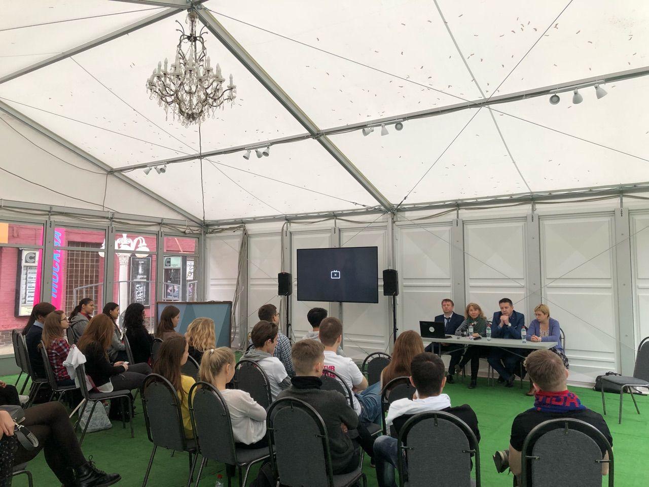 Лекцию о здоровом образе жизни прослушали посетители фестиваля «Москва – территория здравого смысла»