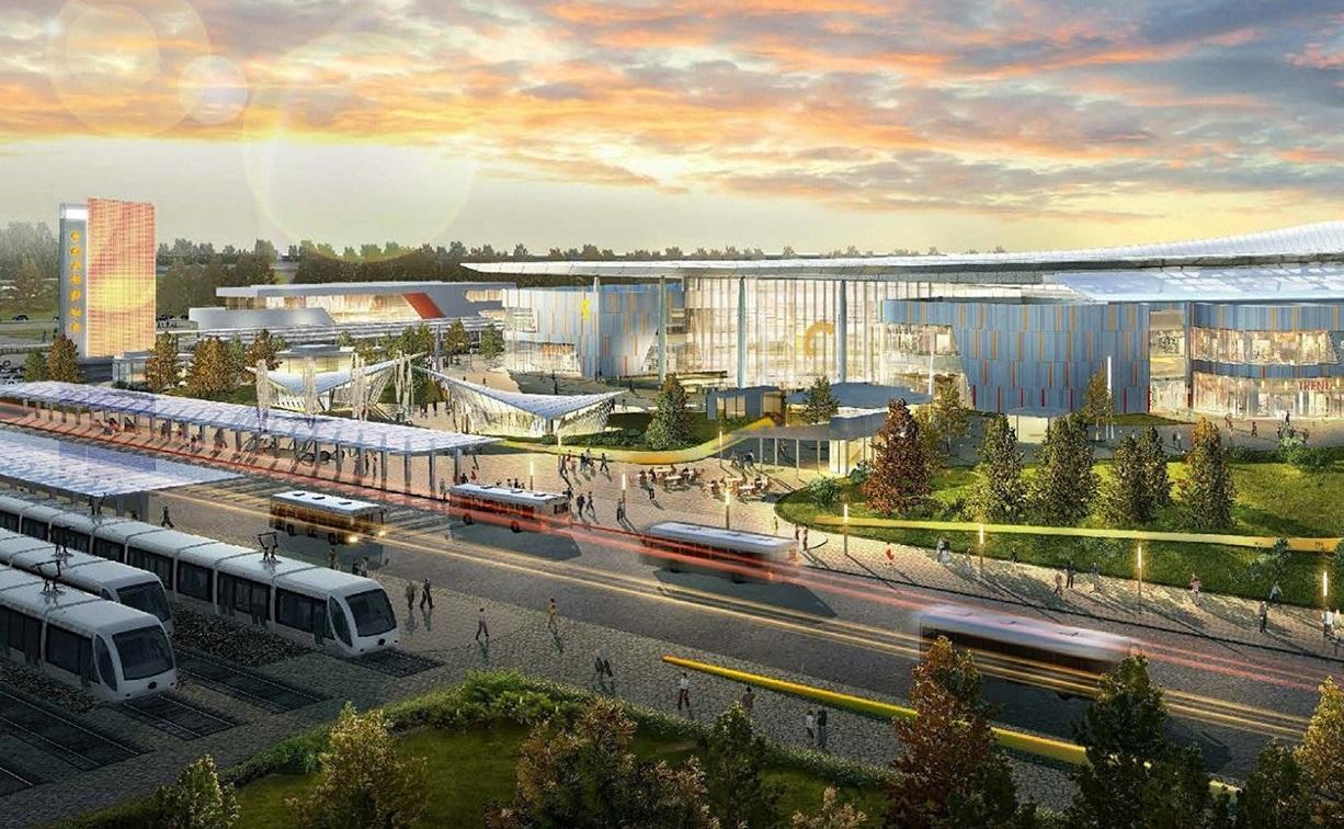 Одним из самых крупных транспортно-пересадочных узлов столицы станет «Саларьево»