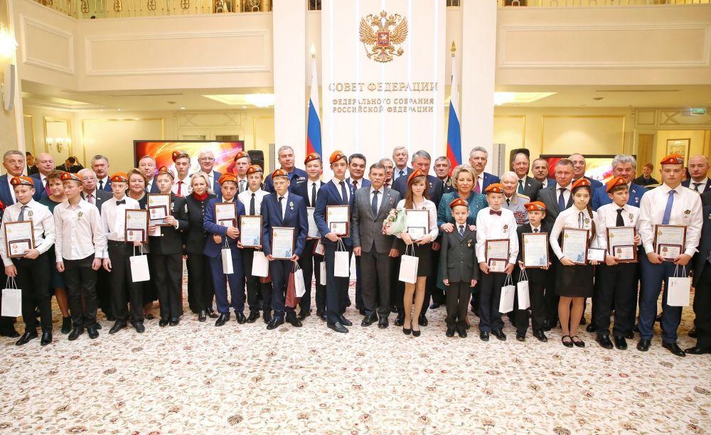 В Москве прошло награждение детей и подростков, совершивших героические поступки