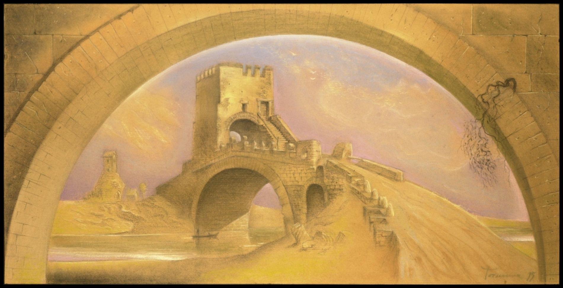 Картина БорисаТалесника. Фото: Троицкий дом ученых