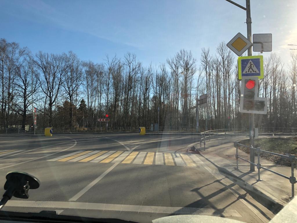 Светофорную сеть отремонтировали в поселении Кокошкино