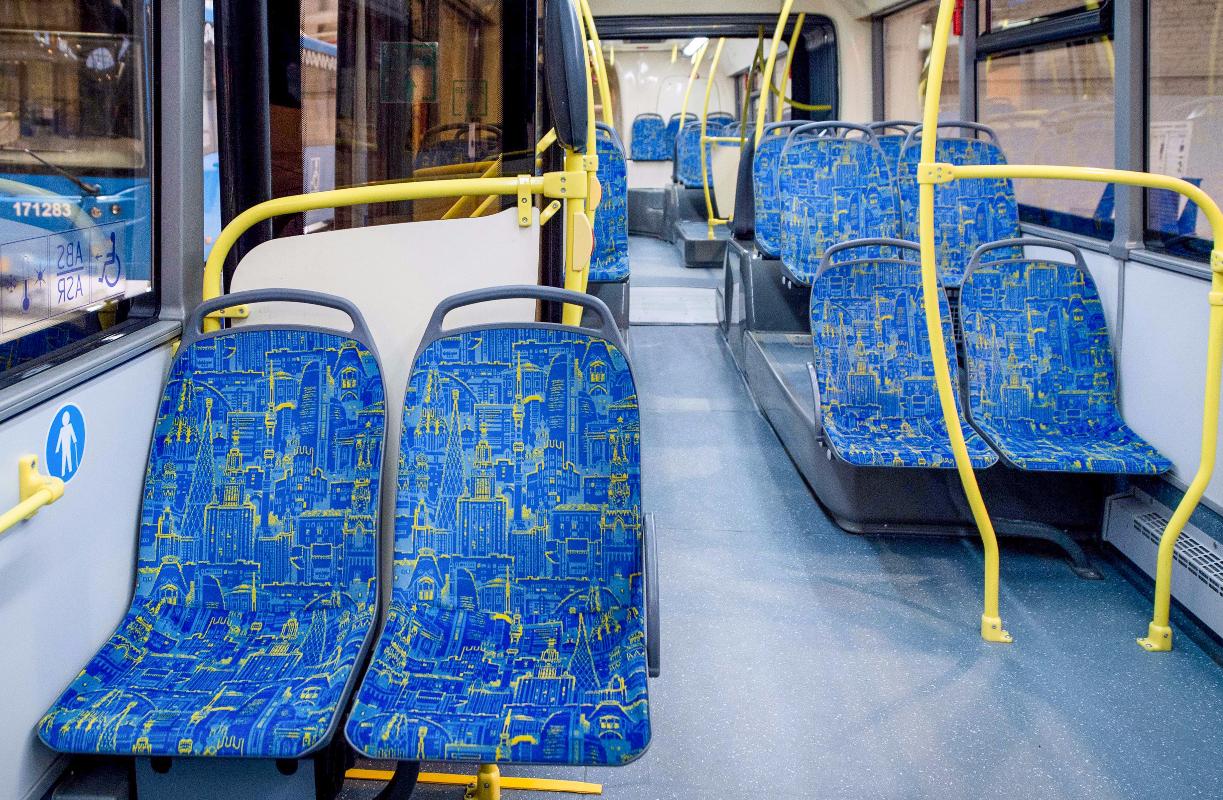 Электробусы начали обслуживать еще один столичный маршрут