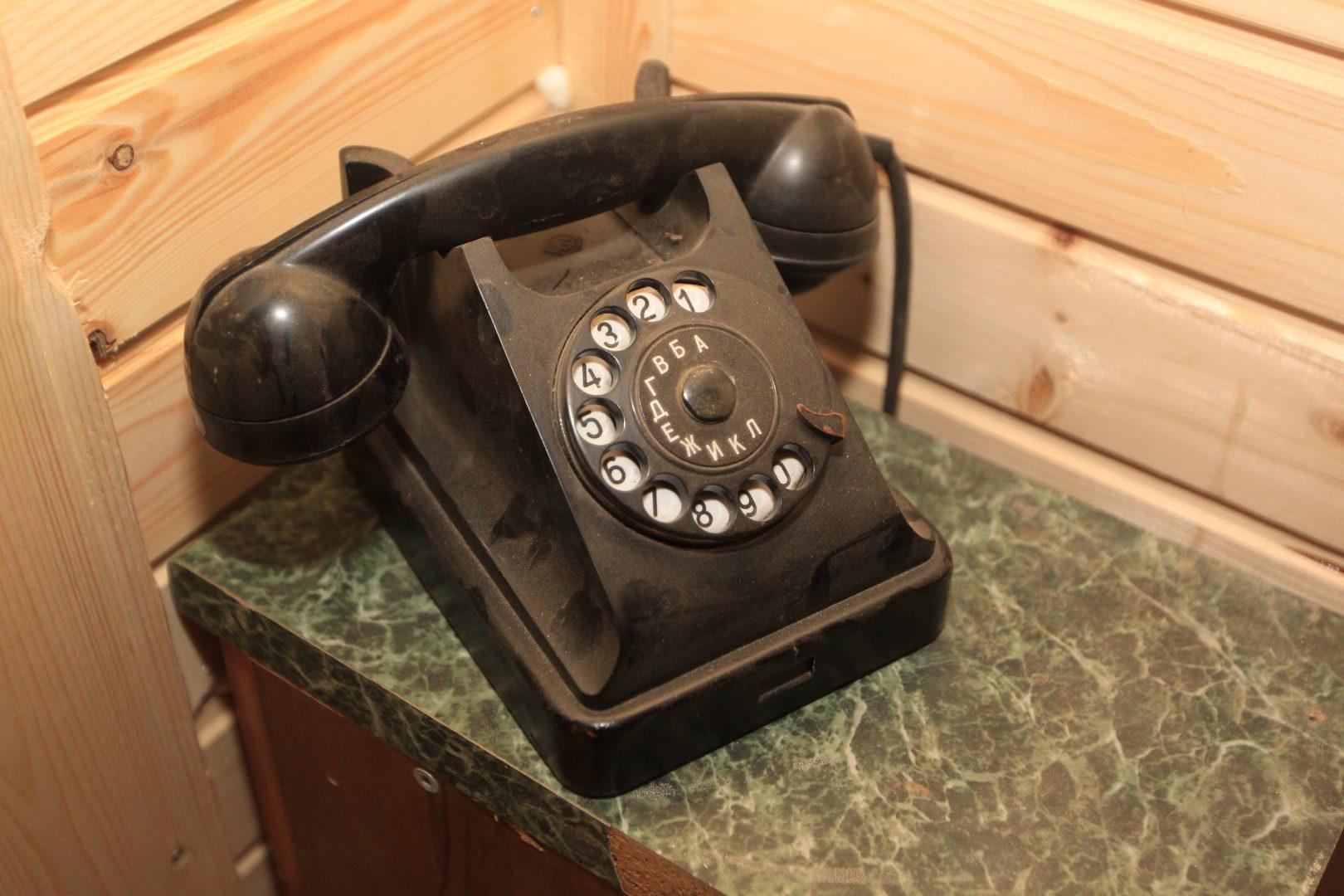В коллекции Михаила есть и ретротелефоны. Фото: Владимир Смоляков