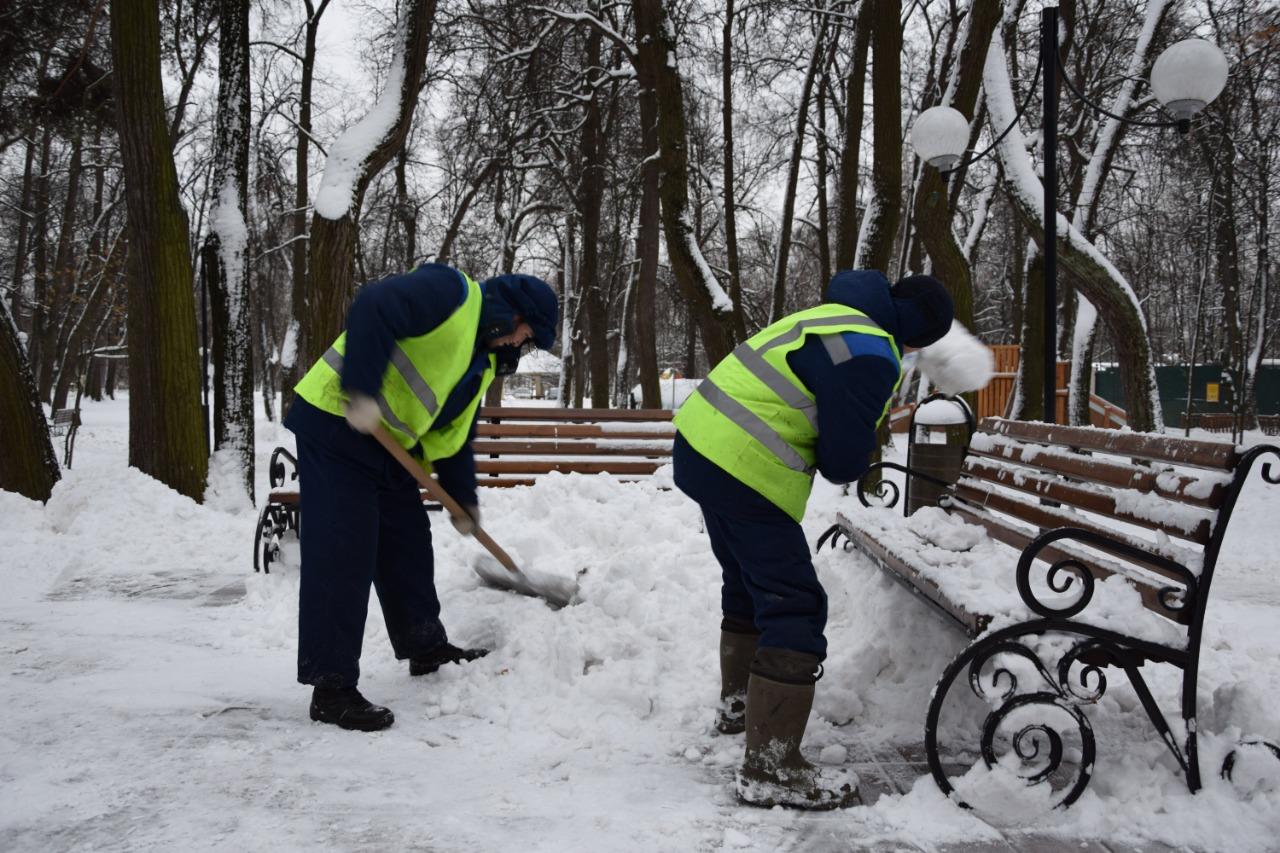 Свыше 8 тысяч кубических метров снега убрали с территории Новой Москвы