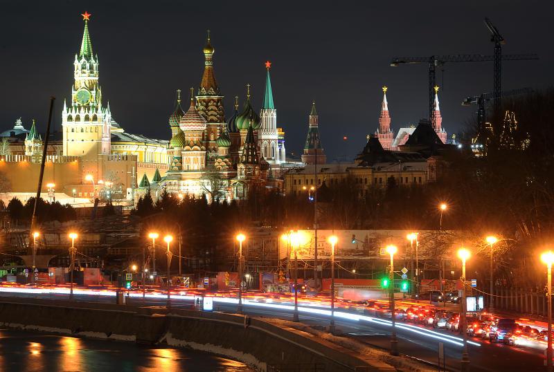 Москвичей предупредили о новогодних пробках. Фото: Александр Кожохин