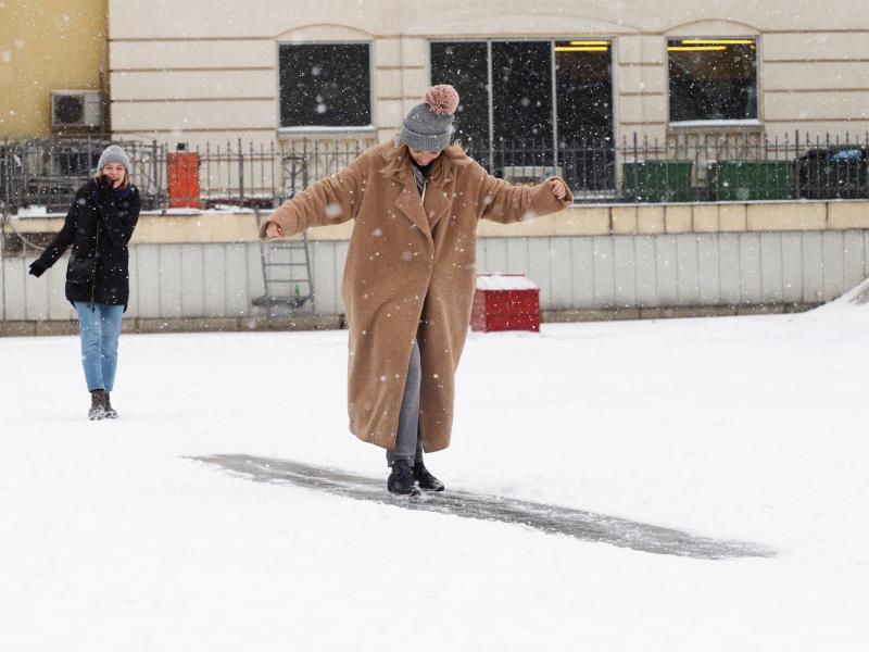 Синоптики: московские улицы превратятся в большой каток