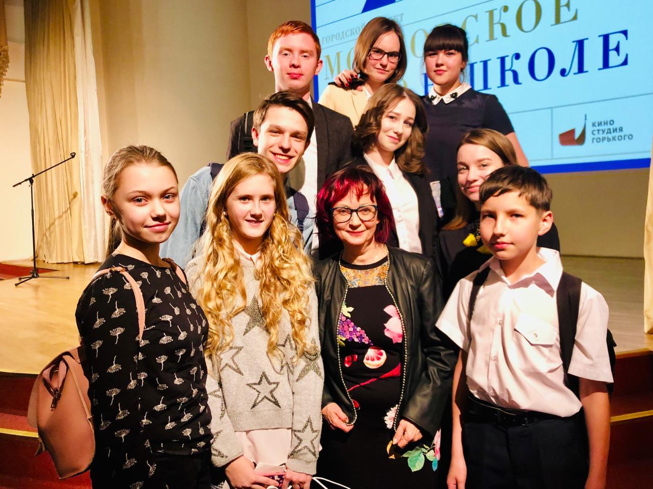Проект «Московское кино в школе» стартует в Десеновском. Фото: школа №1392