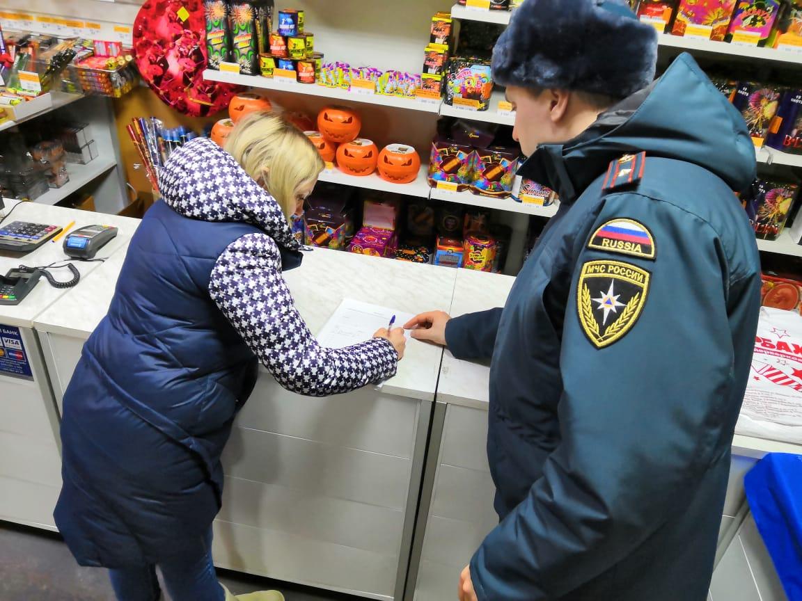 Точки реализации пиротехнических изделий проверят в Новой Москве