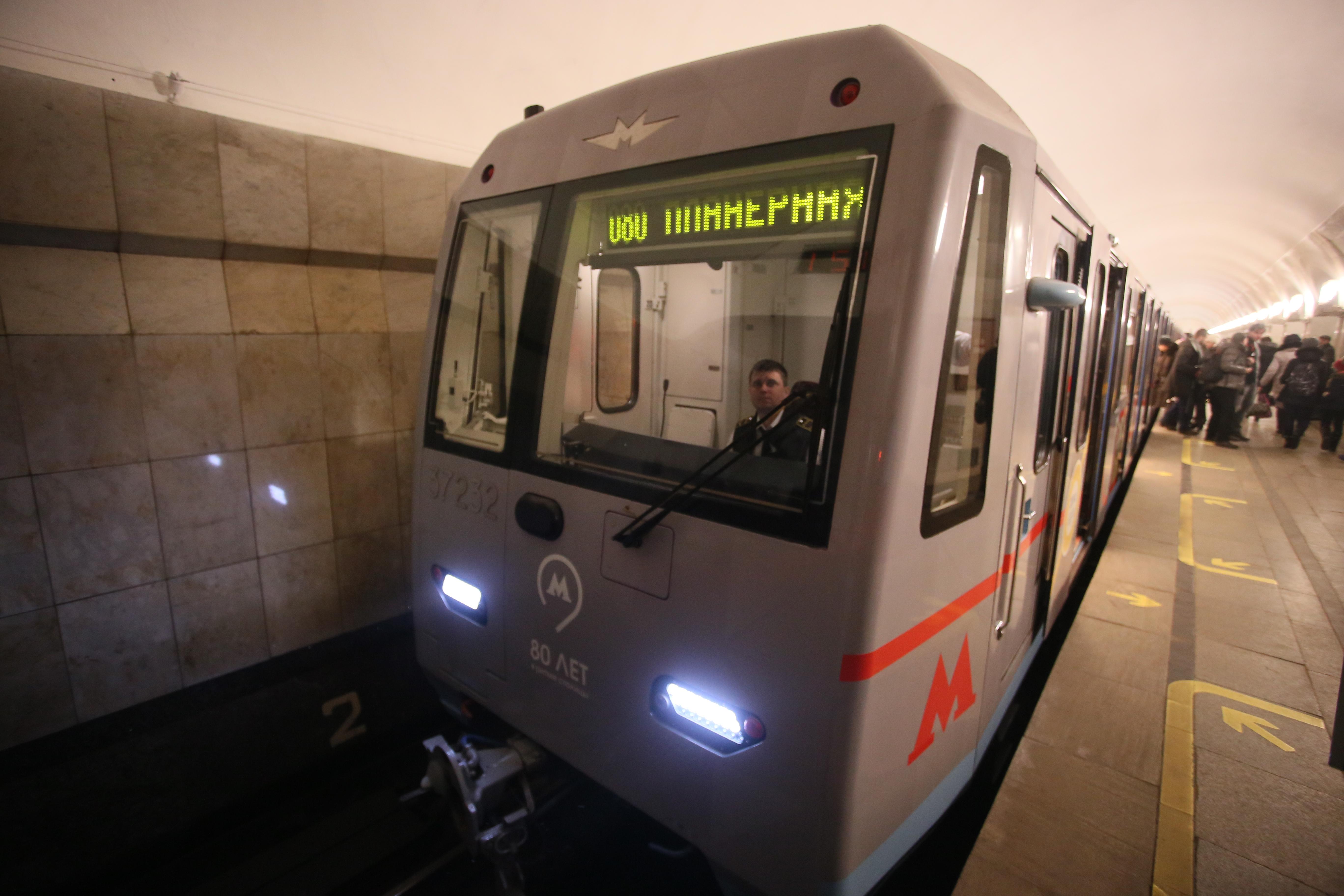 Московское метро заработало после сбоя на двух линиях