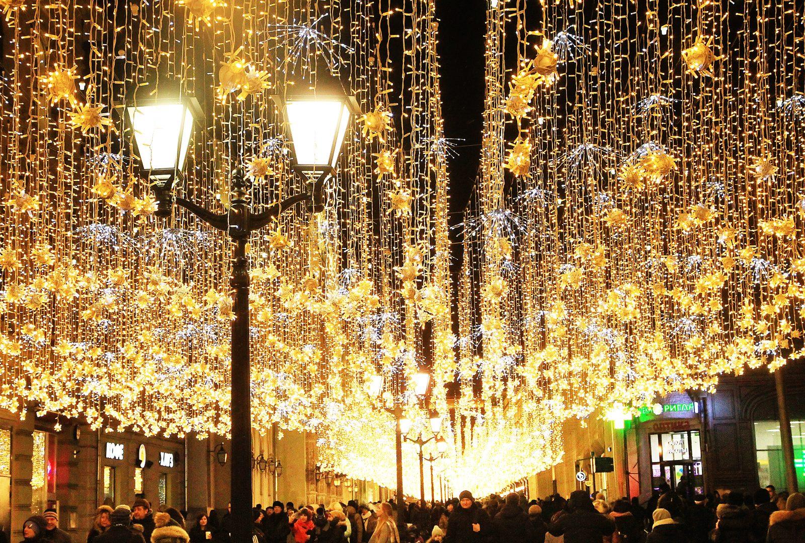 Площадки московского фестиваля «Путешествие в Рождество». Фото: архив
