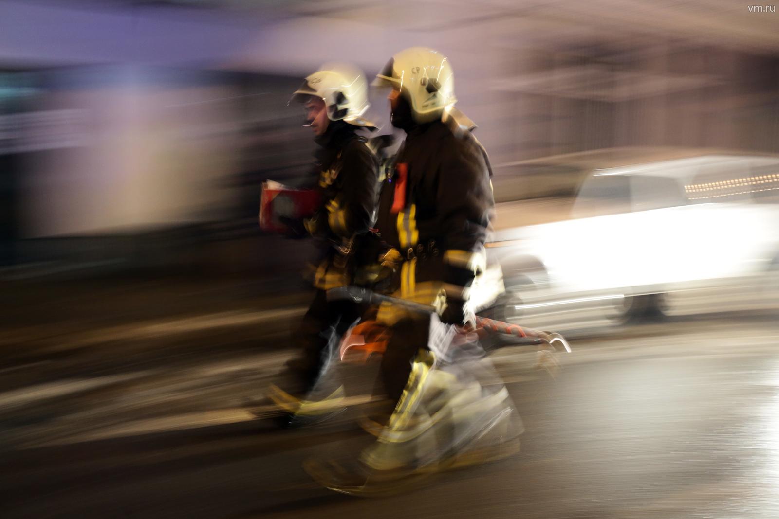 Торговый центр в Новой Москве эвакуировали из-за пожара