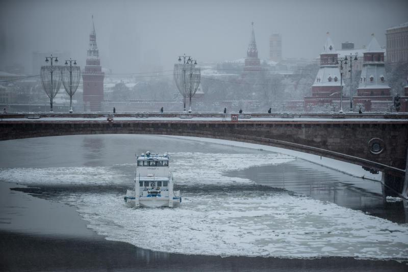 Москву в воскресенье накроет туманом