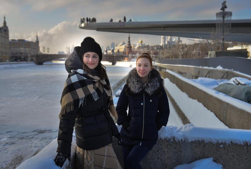 Парящий мост в Москве стал украшением проездного билета