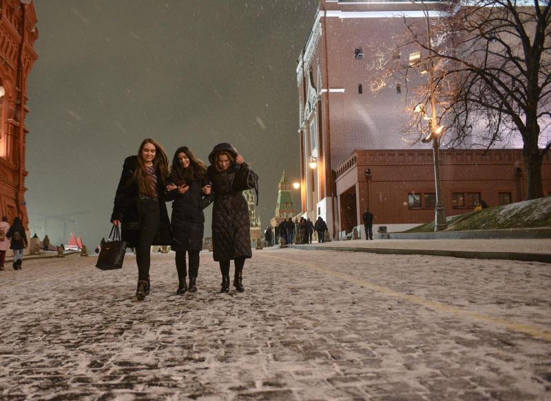 Москвичей ожидает похолодание. Фото: Пелагия Замятина