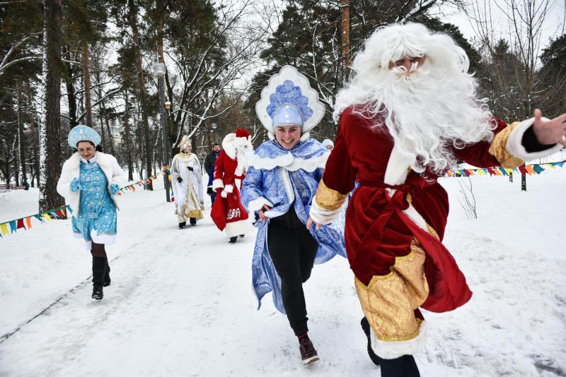 Жители Москвы начнут Новый год с забега