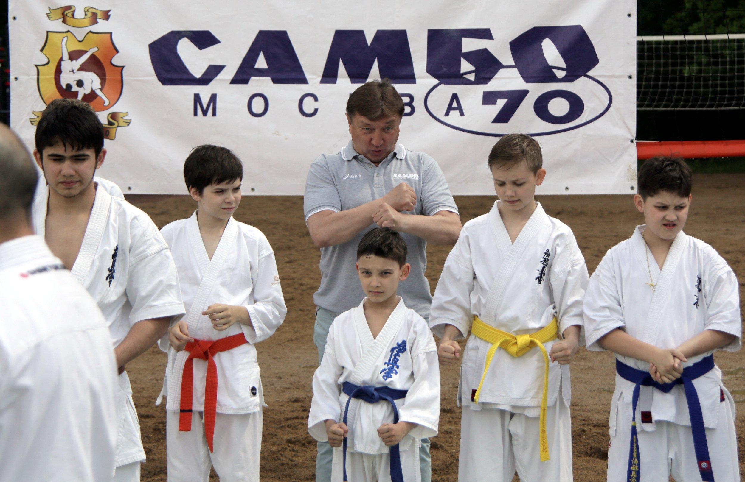 Самбо станет олимпийским видом спорта. Фото: архив
