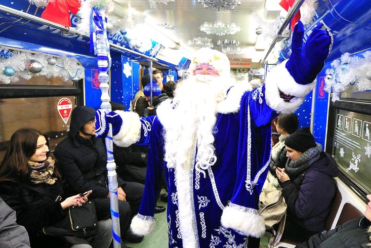 Круглосуточный режим работы метро и МЦК установят в Новый год