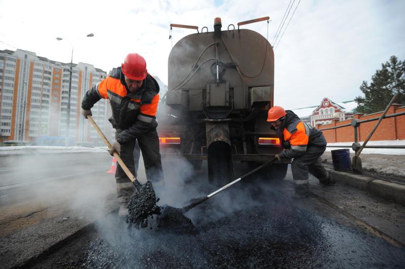 Итоги программы по ремонту объектов дорожного хозяйства подвели в Краснопахорском