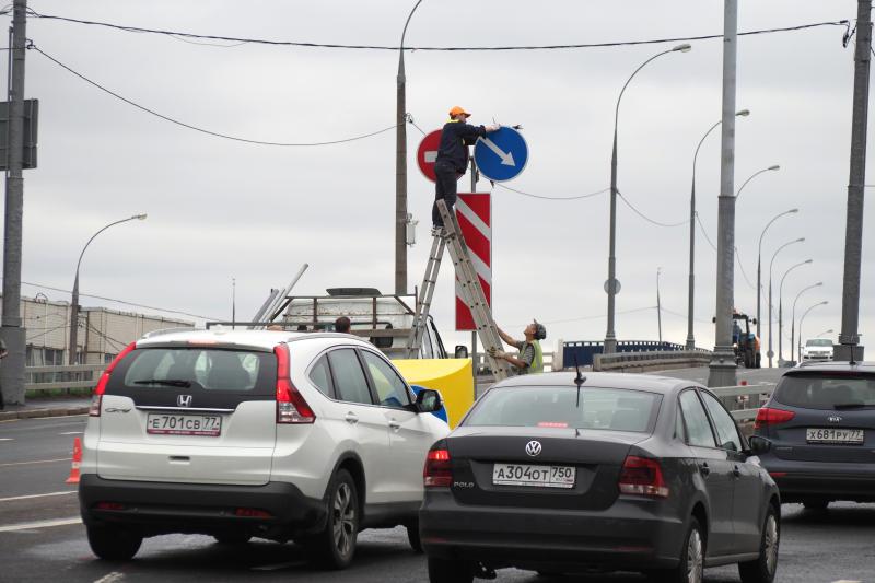 Порядка 450 километров магистральных дорог планируется построить в Новой Москве