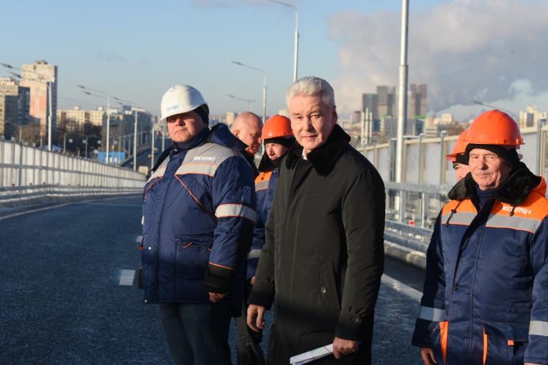 Сергей Собянин сообщил о рекордном количестве новых инженерных сооружений за 2018 год в Москве