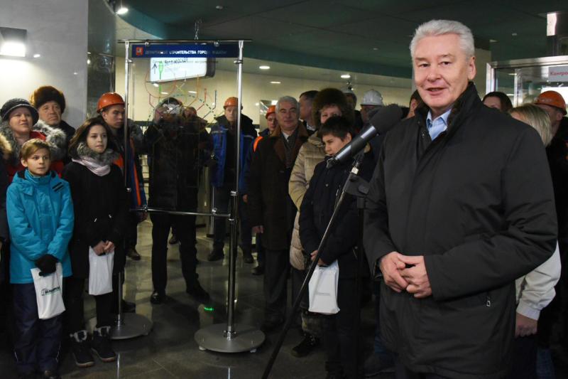Собянин рассказал о работе по созданию первого МЦД наземного метро