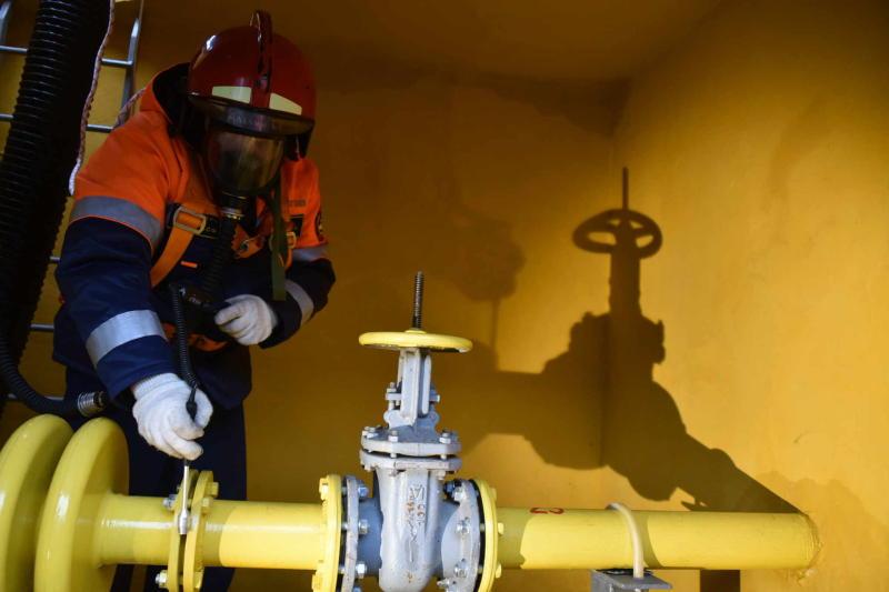 Четыре километра газопровода построили в деревне Середнево