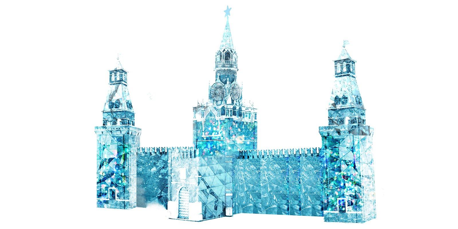 Сфинкс, Тадж-Махал и Кремль появятся к ледовому фестивалю в Парке Победы
