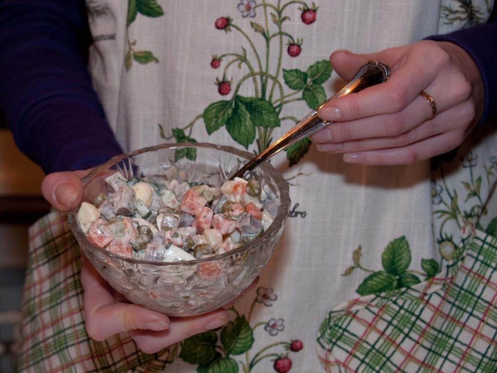 Жители Первомайского поделятся рецептами салата оливье