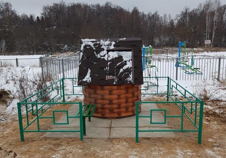 Ремонт и очистку колодца завершили на территории Первомайского
