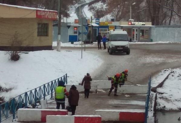 Мостовые сооружения в Рязановском привели в порядок