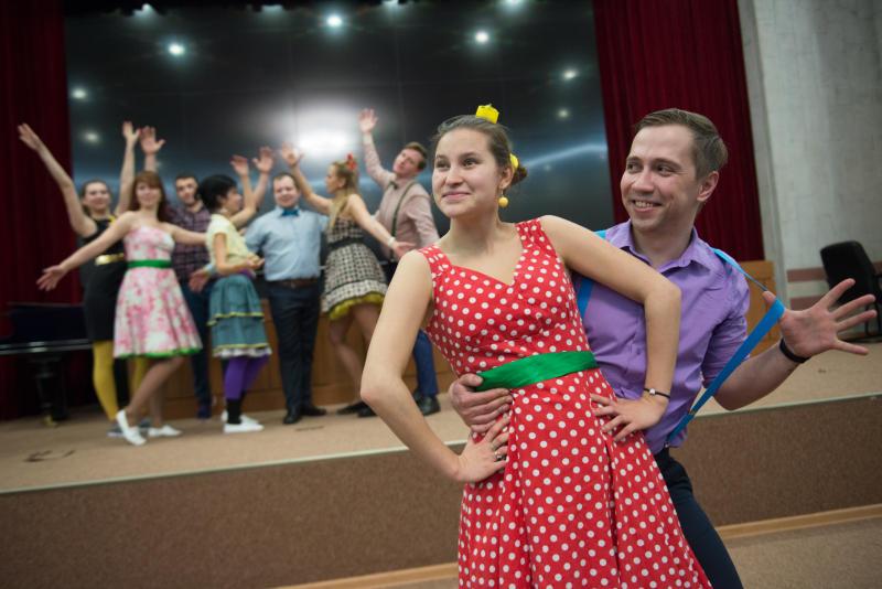 Давайте потанцуем: мастер-класс организуют в Краснопахорском