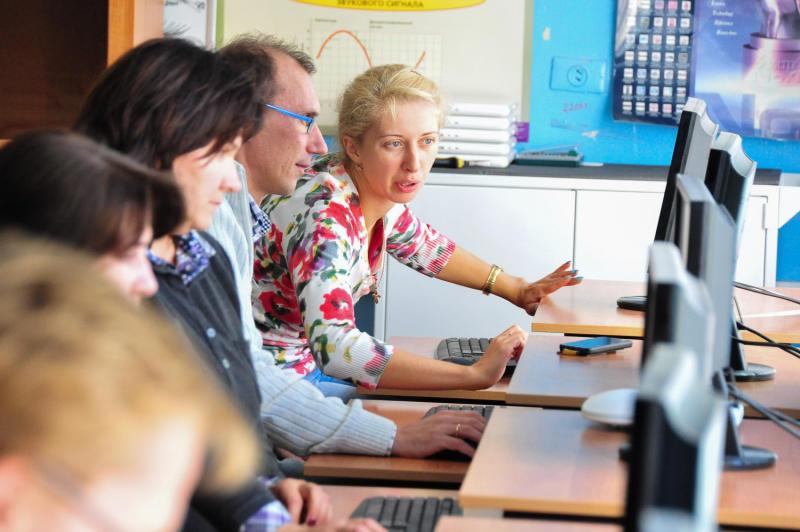 Учительница физики Троицкого лицея стала призером метапредметной олимпиады