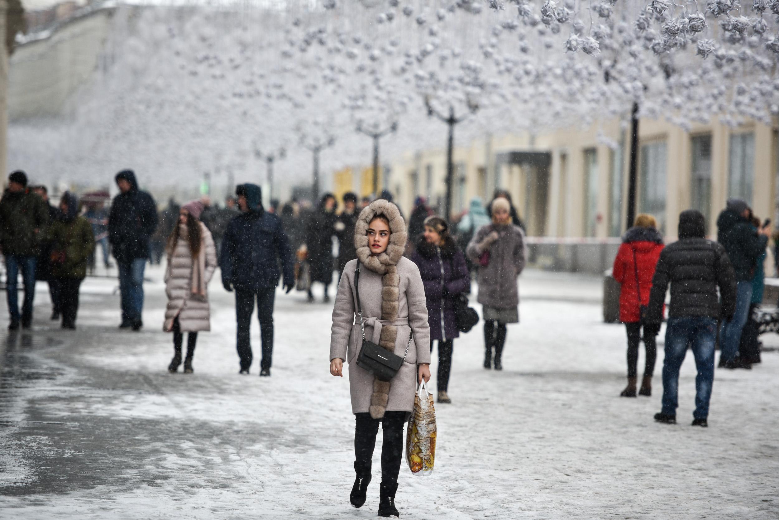 Москвичей ждет похолодание 28 декабря