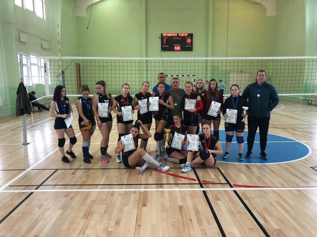 Команда из Щаповского посоревнуется в турнире по волейболу