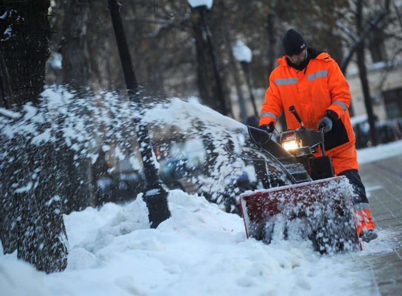 Москву накрыл снегопад. Фото: Александр Кожохин, «Вечерняя Москва»