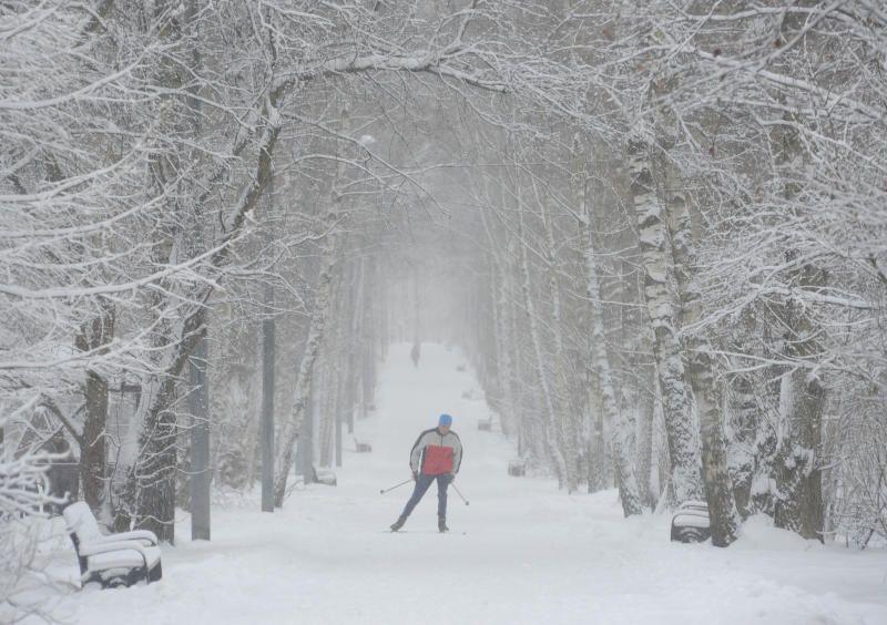На выходных Москву ждет снежная буря