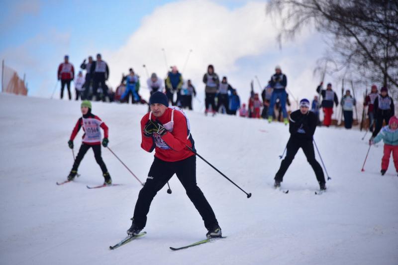 Жителей Сосенского пригласили на лыжные гонки