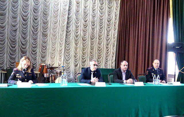 Представитель Общественного совета при УВД по ТиНАО принял участие в отчете участковых уполномоченных полиции перед жителями поселения Кокошкино