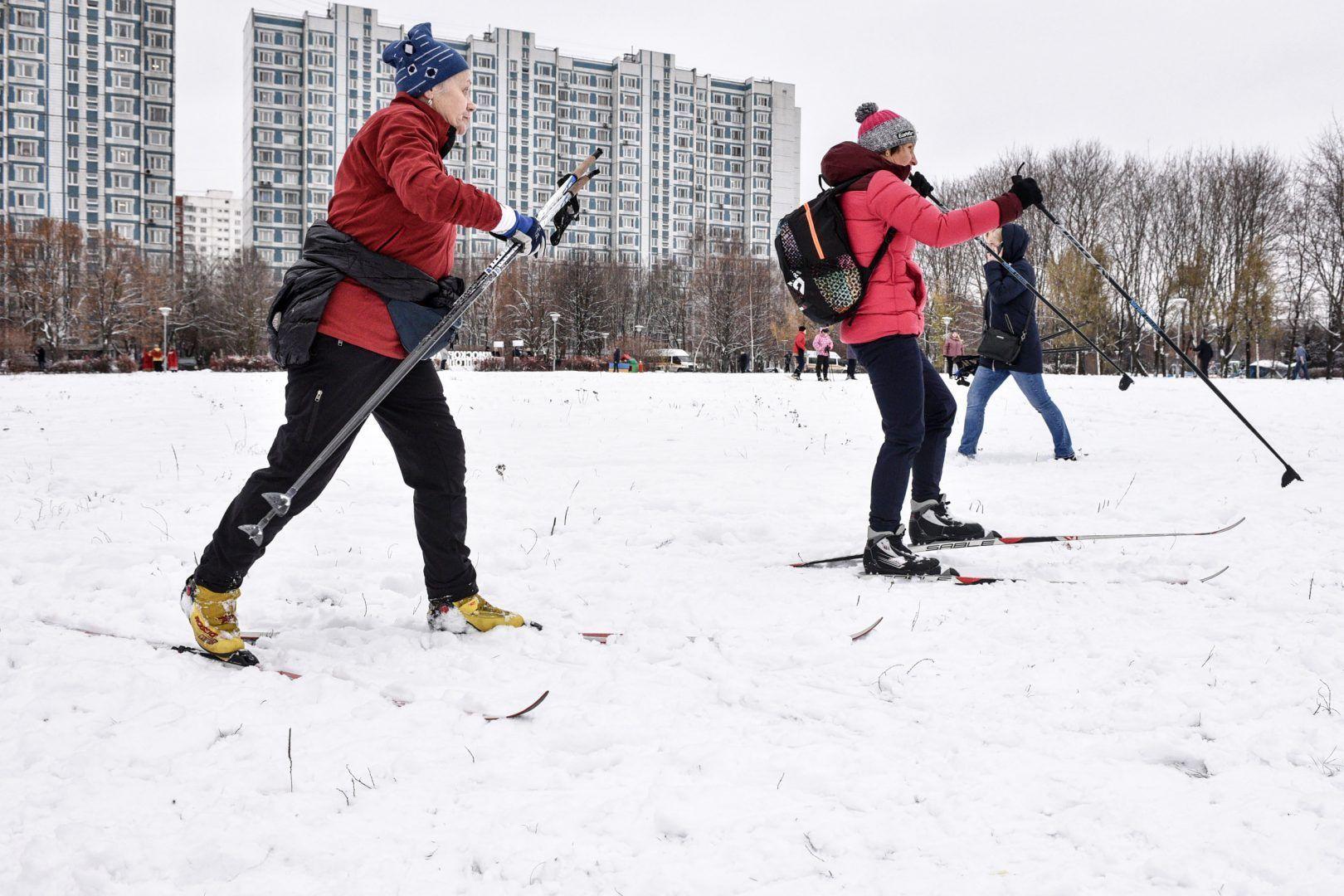 В случае сильных морозов занятия лучше ограничить до одного часа.Фото: Пелагия Замятина, «Вечерняя Москва»