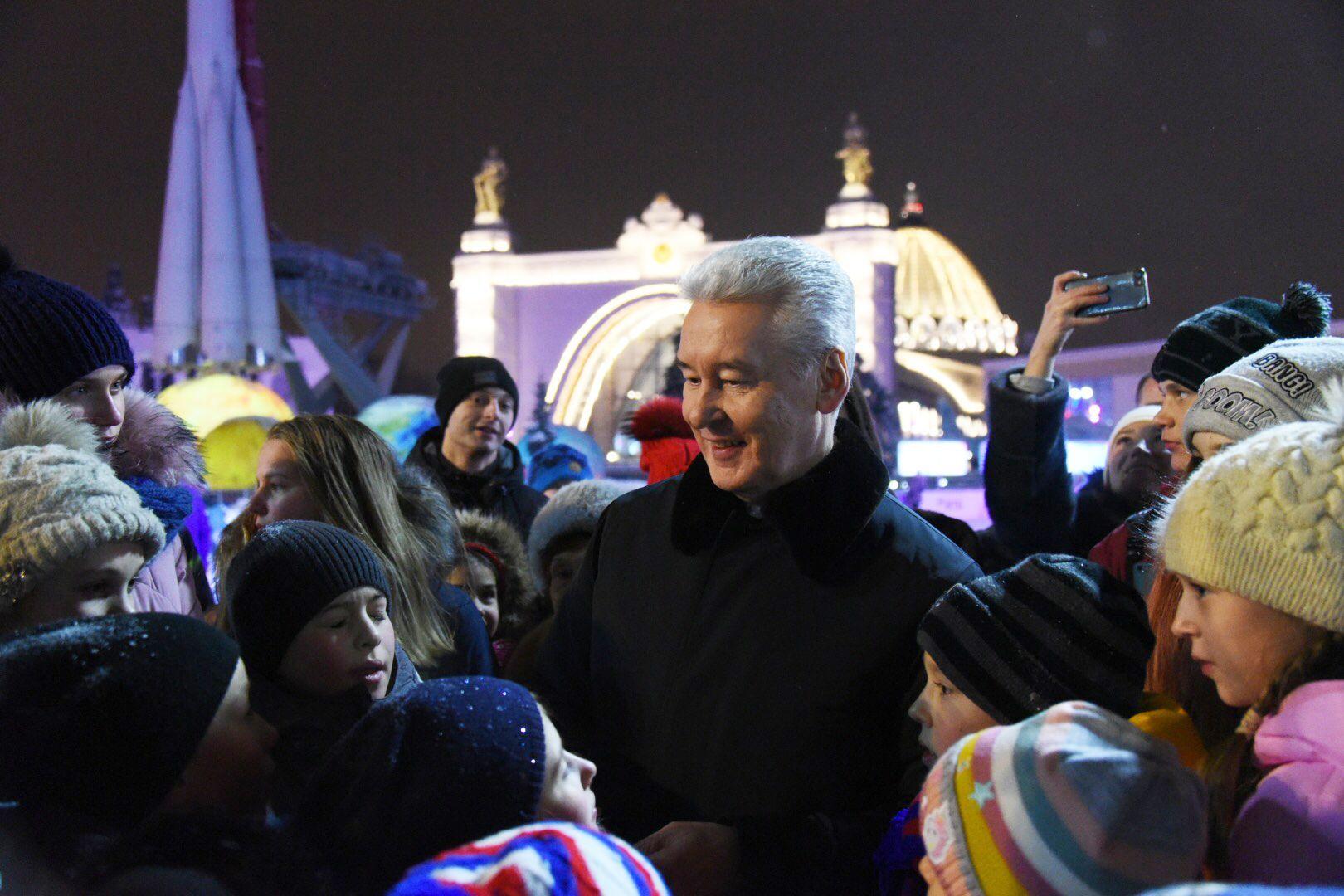 Сергей Собянин пригласил москвичей на заключительные мероприятия праздничного фестиваля.Фото: архив, «Вечерняя Москва»